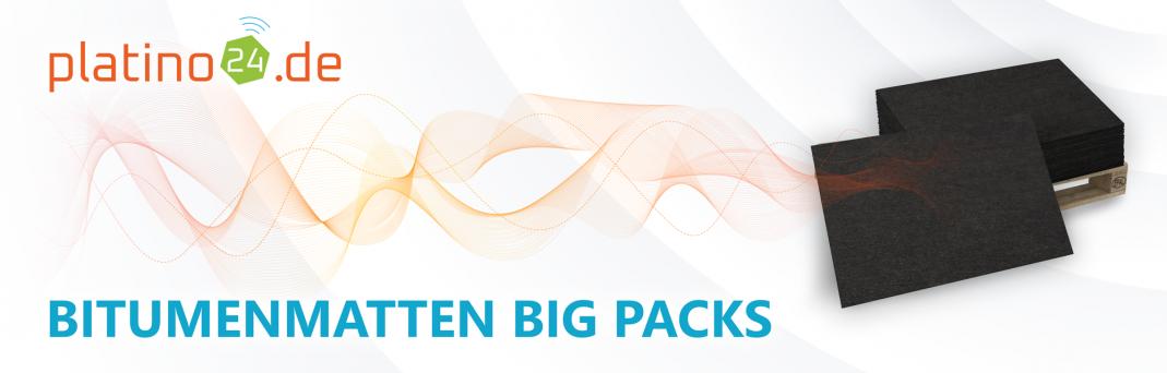 Bitumen-Matten BigPacks