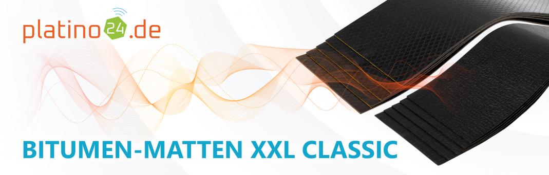 Bitumen-Matten XXL Classic