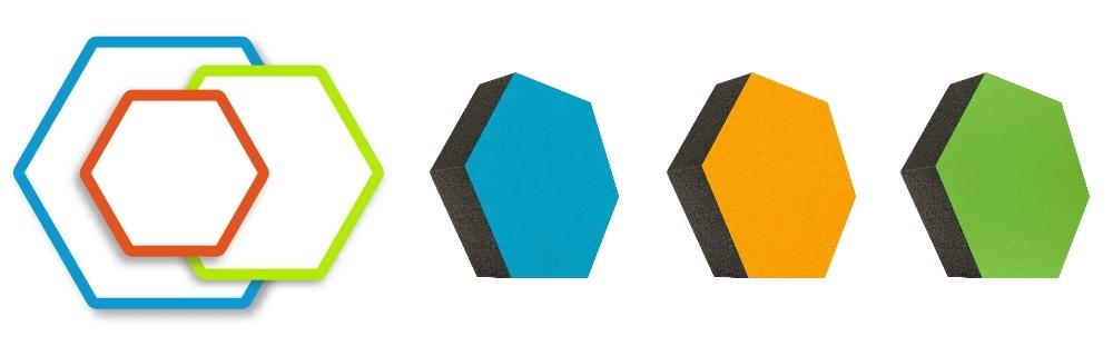 Schaum-Absorber Colore