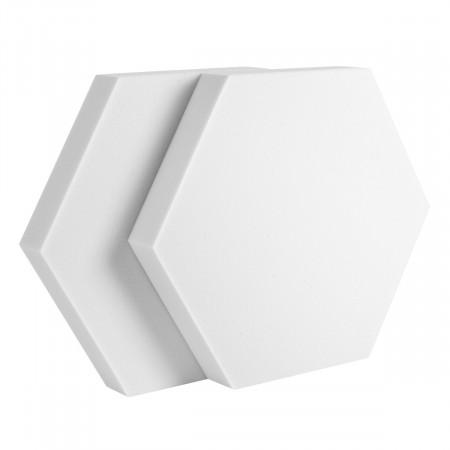 2 Absorber Wabenform Basotect ® G+ / je 398 x 398 x 50 mm
