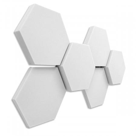 6 Absorber Wabenform Basotect ® G+ / je 2 Stück 398 x 398 x 30/50/70mm