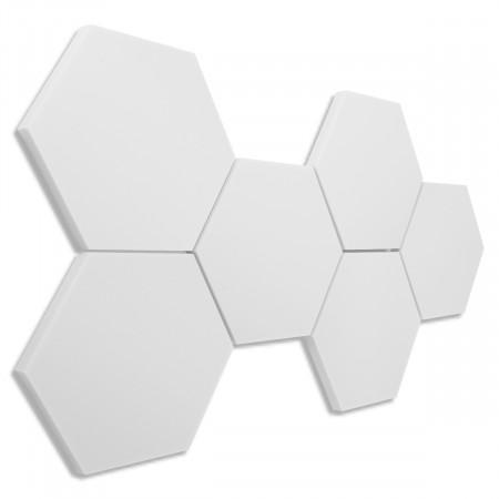 6 Absorber Wabenform Basotect ® G+ / je 300 x 300 x 30 mm