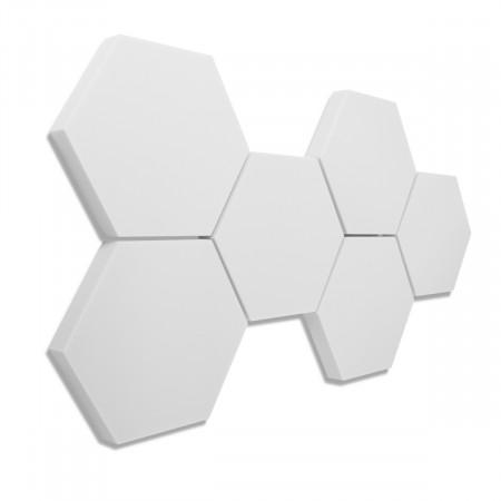 6 Absorber Wabenform Basotect ® G+ / je 300 x 300 x 50 mm
