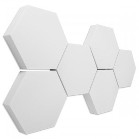 6 Absorber Wabenform Basotect ® G+ / je 398 x 398 x 70 mm