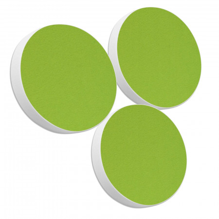 3 Basotect ® G+ Akustik Schallabsorber Kreis Multicolore-Set 29