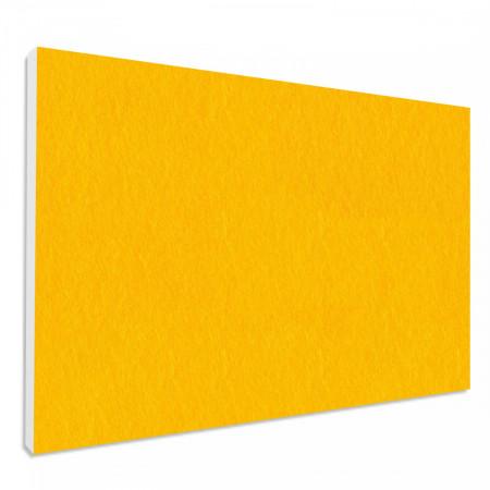 Basotect ® G+ Schallabsorber Wandbild Akustik Schalldämmung 82,5x55cm (Sonnengelb)