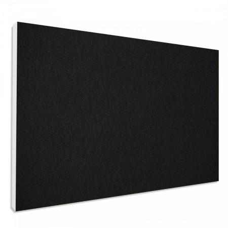 Basotect ® G+ Schallabsorber Wandbild Akustik Schalldämmung 82,5x55cm (Schwarz)