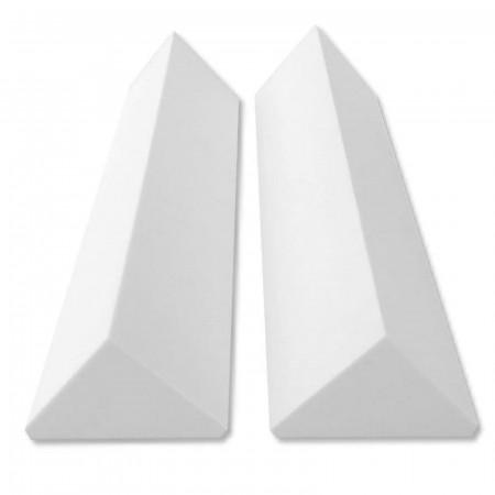 2 Eckabsorber Basotect ® G+  je 24x24x100 cm HiFi Akustik Elemente