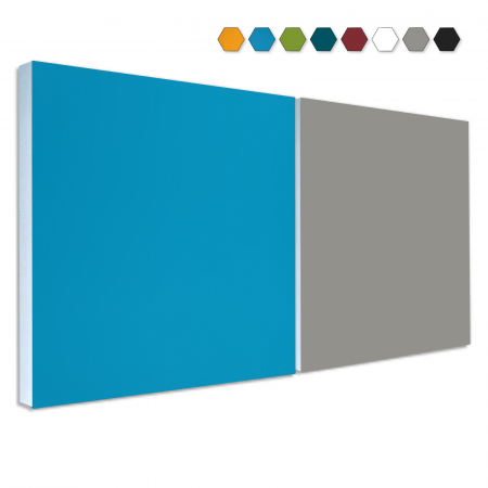 2 Basotect ® G+ Schallabsorber Akustik Schalldämmung je 55x55cm (MIX Set 06)