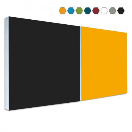 2 Basotect ® G+ Schallabsorber Akustik Schalldämmung je 55x55cm (MIX Set 10)