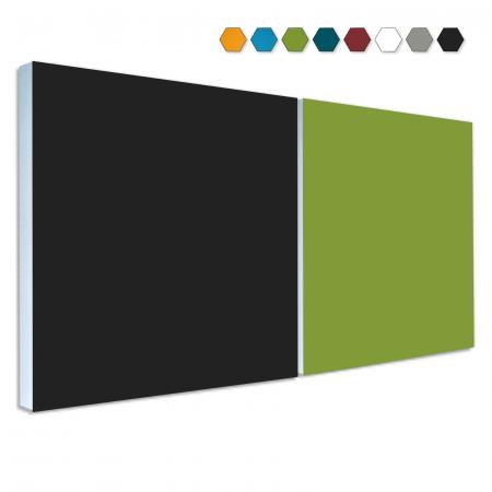2 Basotect ® G+ Schallabsorber Akustik Schalldämmung je 55x55cm (MIX Set 12)