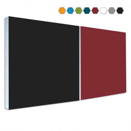 2 Basotect ® G+ Schallabsorber Akustik Schalldämmung je 55x55cm (MIX Set 14)