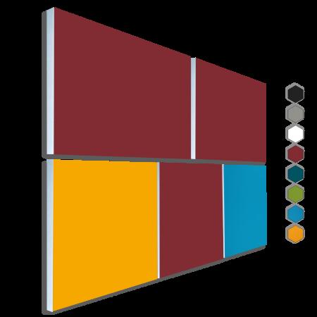 Basotect ® G+ Schallabsorber - 5 x  Akustik Element Schalldämmung Wandbild 38