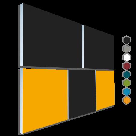 Basotect ® G+ Schallabsorber - 5 x  Akustik Element Schalldämmung Wandbild 34