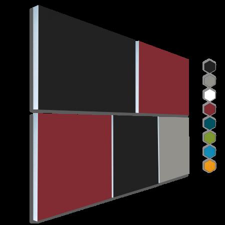 Basotect ® G+ Schallabsorber - 5 x  Akustik Element Schalldämmung Wandbild 36