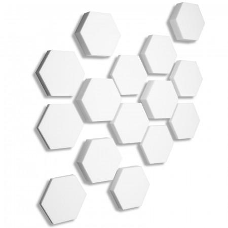 15x Basotect ® B WEISS 3D - Absorber Akustik Schallabsorption Breitbandabsorber Set #10