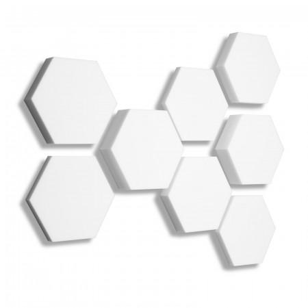 8x Basotect ® B WEISS 3D - Absorber Akustik Schallabsorption Breitbandabsorber Set #13