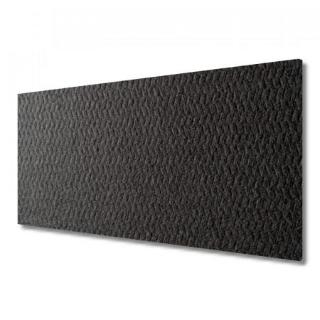 10 Polyester-Dämmvlies-Matten je 500 x 200 x 10 mm - RG: ca. 50kg/m³ - schwarz