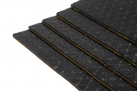 1 Pack mit 10 Bitumenmatten - Typ BX28  / Rohformat
