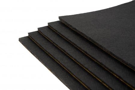 1 Pack mit 10 Bitumen-Matten - Typ BX36  / Rohformat