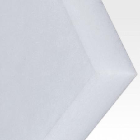 Polyester-Dämmvlies-Matte / Stärke 50mm / selbstklebend - RG: ca. 30kg/m³ - weiß