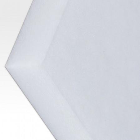 Polyester-Dämmvlies-Matte / Stärke 40mm / selbstklebend - RG: ca. 30kg/m³ - weiß