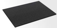 1 Pack mit 5 Moosgummi-Matten / Zellkautschuk / je 500 x 200 x 10 mm