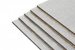 1 Pack mit 5 Bitumenmatten + ALU-Kaschierung - Typ BAX28  / XXL