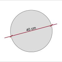 Basotect ® G+ / Ronde Kreis Durchmesser 400 mm / 50 mm dick