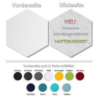 6 Absorber Wabenform aus  Basotect ® G+ / je 300 x 300 x 50 mm