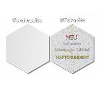 6 Absorber Wabenform Basotect ® G+ / je 300 x 300 x 70 mm