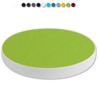 Basotect ® G+ / 1x Ronde Kreis Durchmesser 400 mm / 50 mm dick (Hellgrün)