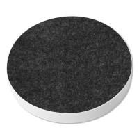 3 Akustik Schallabsorber aus Basotect ® G+ / Kreis Multicolore-Set 24