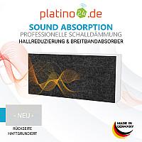 Schallabsorber-Set Colore aus Basotect G+ < 3 Elemente > Anthrazit