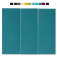 Basotect G+ Schallabsorber-Set Colore < 3 Elemente > Petrol