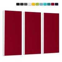 Basotect G+ Schallabsorber-Set Colore < 3 Elemente > Bordeaux