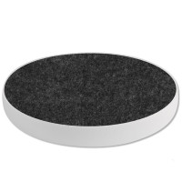 8 Akustik Schallabsorber aus Basotect ® G+ / Kreis Multicolore-Set 01