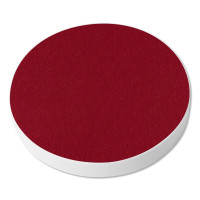 6 Akustik Schallabsorber aus Basotect ® G+ / Kreis Multicolore-Set 17