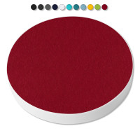 1 Basotect ® G+ Akustik Schallabsorber Kreis 55 cm (Bordeaux)
