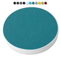 Basotect ® G+ / 1x Ronde Kreis Durchmesser 550 mm / 50 mm dick (Petrol)