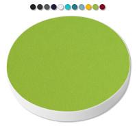 Basotect ® G+ / 1x Ronde Kreis Durchmesser 550 mm / 50 mm dick (Hellgrün)