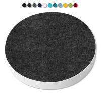 Basotect ® G+ / 1x Ronde Kreis Durchmesser 550 mm / 50 mm dick (Anthrazit)