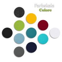 1 Basotect ® G+ Akustik Schallabsorber Kreis 55 cm Multicolore (Türkis)