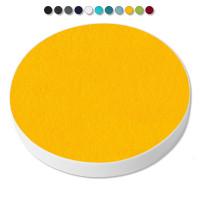 1 Basotect ® G+ Akustik Schallabsorber Kreis 55 cm Multicolore (Sonnengelb)