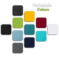 Schallabsorber Colore aus Basotect ® G+ / Akustik Schalldämmung 55x55cm (Weiss)