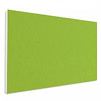 Basotect ® G+ Schallabsorber Wandbild Akustik Schalldämmung 82,5x55cm (Hellgrün)
