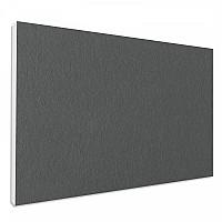 Basotect ® G+ Schallabsorber Wandbild Akustik Schalldämmung 82,5x55cm (Granitgrau)
