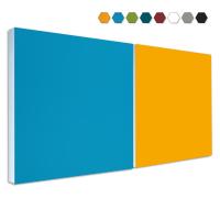 2 Basotect ® G+ Schallabsorber Akustik Schalldämmung je 55x55cm (MIX Set 05)