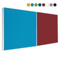 2 Basotect ® G+ Schallabsorber Akustik Schalldämmung je 55x55cm (MIX Set 02)