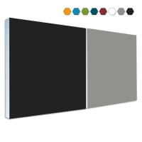 2 Basotect ® G+ Schallabsorber Akustik Schalldämmung je 55x55cm (MIX Set 11)